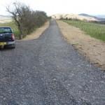 Stone roadway