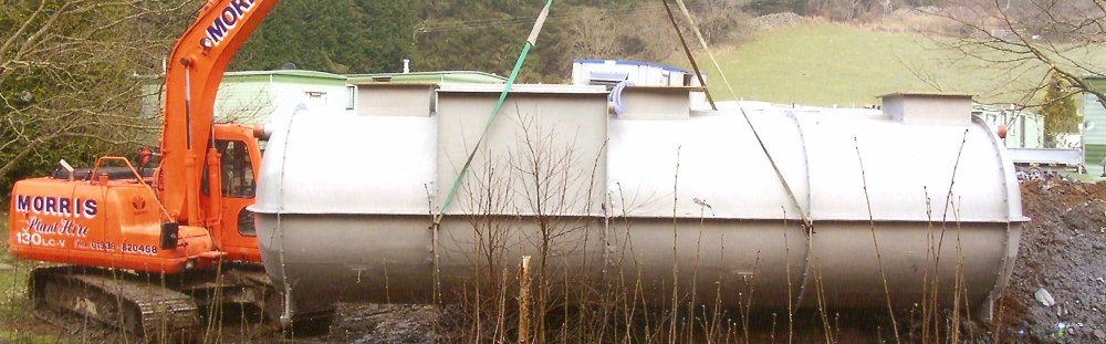 Llwyn Onn Attenuation Tank